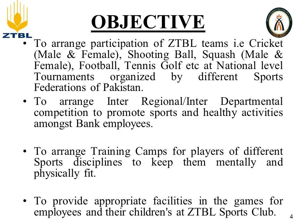 Scheme of Presentation Briefing on Senior Cricket Team and participation in Quaid e Azam Trophy 2011-12.