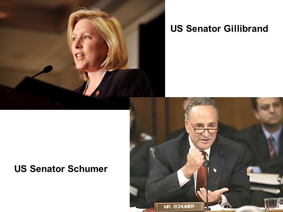 US Senator Gillibrand US Senator Schumer
