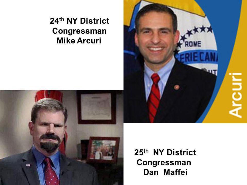 23 rd NY District Congressman Bill Owens