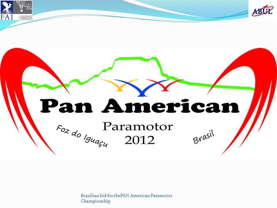 Brasilian bid for thePAN American Paramotor Championship