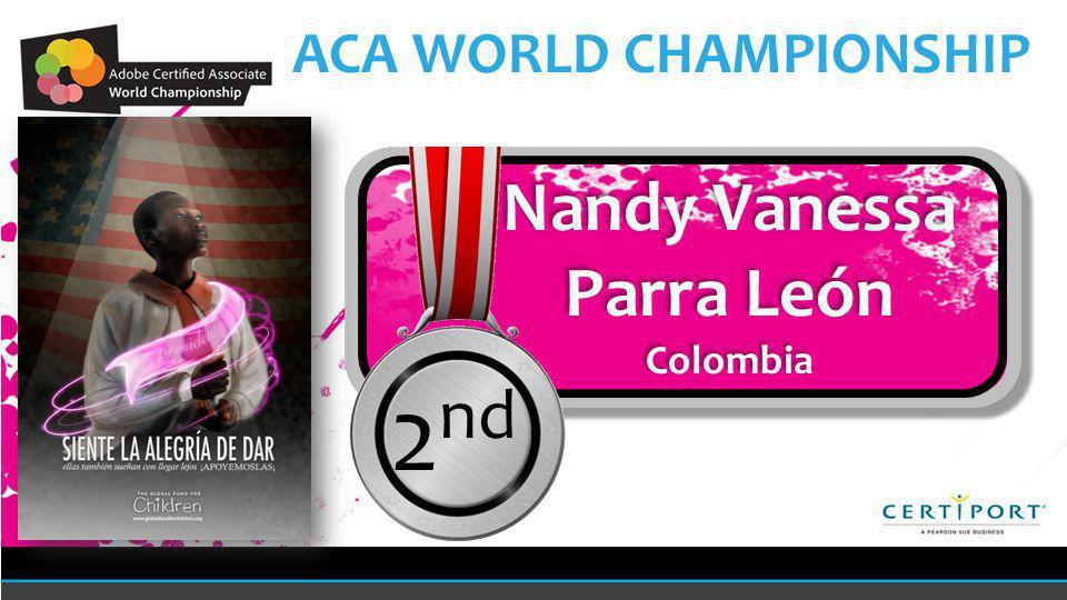 Nandy Vanessa Parra León Colombia Nandy Vanessa Parra León Colombia