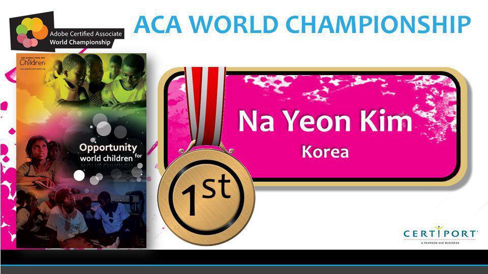 Name COUNTRY Name COUNTRY 1 st Na Yeon Kim Korea Na Yeon Kim Korea