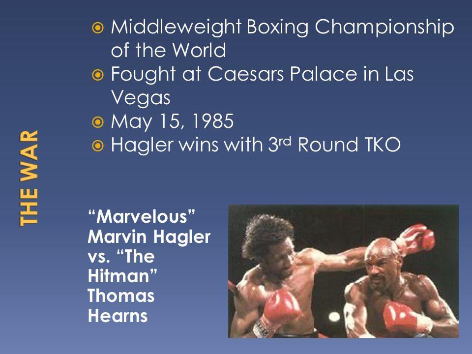 Marvelous Marvin Hagler vs.