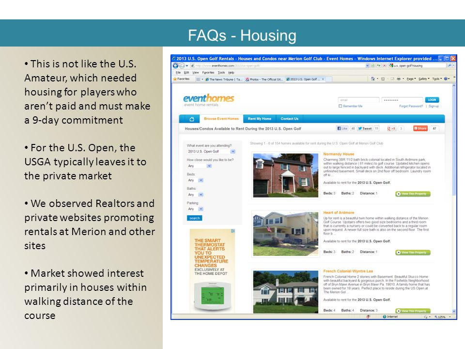 FAQs - Housing This is not like the U.S.