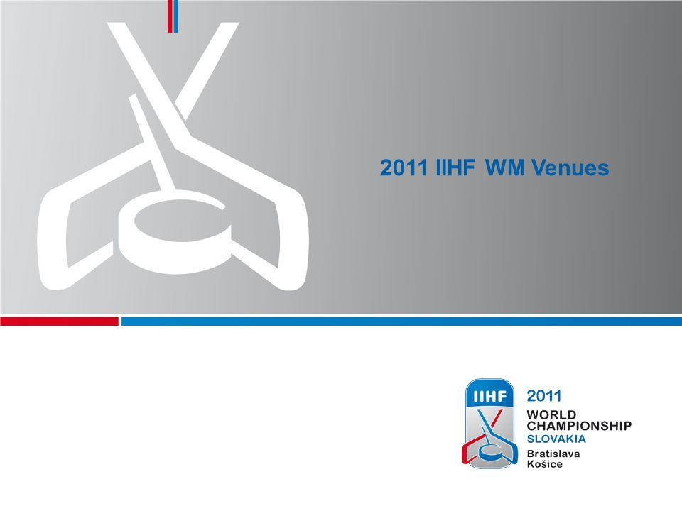 5 The 2011 IIHF World Championship, Slovakia will take place from April 29 to May 15 in Bratislava and Košice Bratislava, Capital of Slovakia, largest city with a population of 429,000 Košice, 2nd largest city with a population of 235,000 2011 IIHF WORLD CHAMPIONSHIP VENUES Bratislava Košice HUN AUT CZE POL UKR
