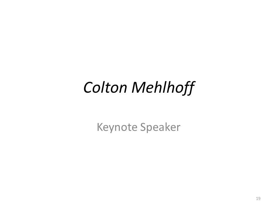 Colton Mehlhoff Keynote Speaker 19