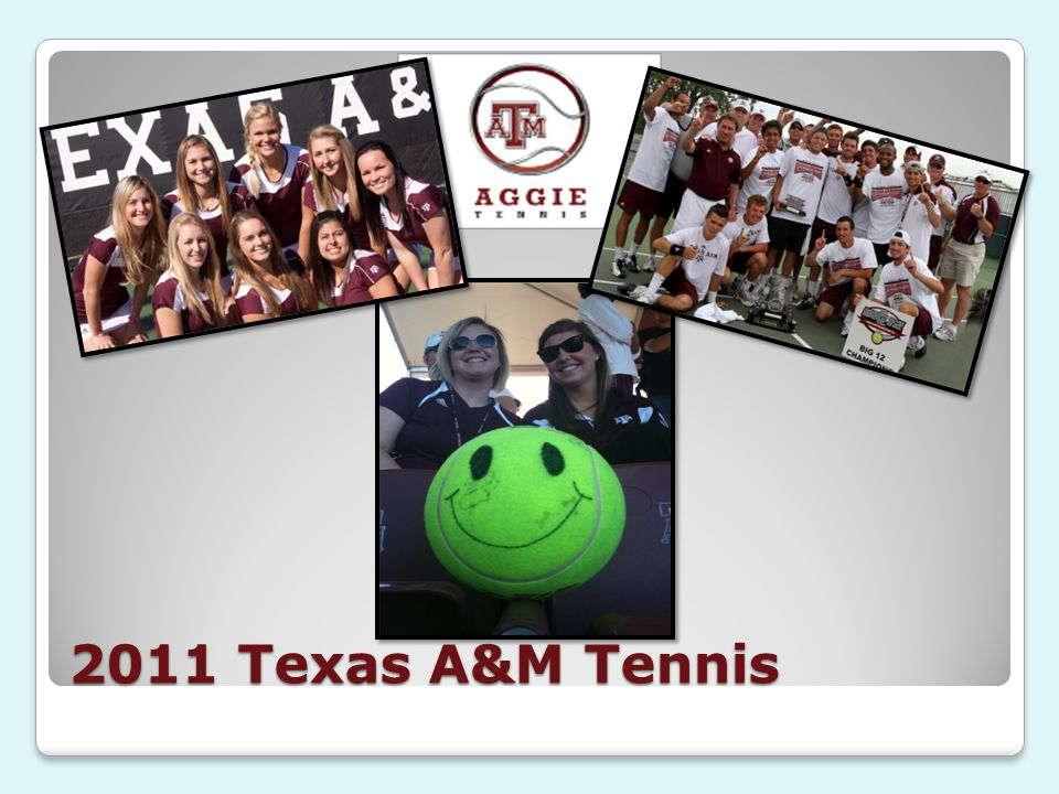 2011 Texas A&M Tennis