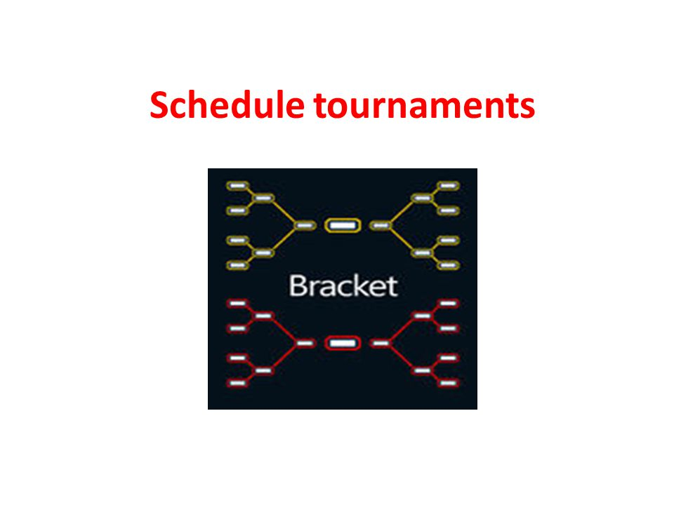 Tournament Organized among a number of competitors, contesting with each other within the discipline of a well-defined game