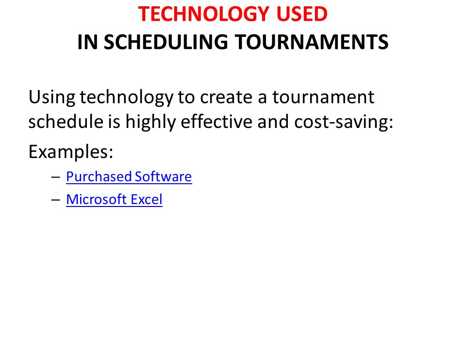 DETERMINING THE TIMEFRAME Determine: – Average length of competition – Number of competitors – Number of games per day/hour – Timeframe for set-up and take-down of each game – Timeframe for Non-sporting events Introductions, ceremonies, songs, intermission and post game interviews – Timeframe of concessions and merchandise sales operation