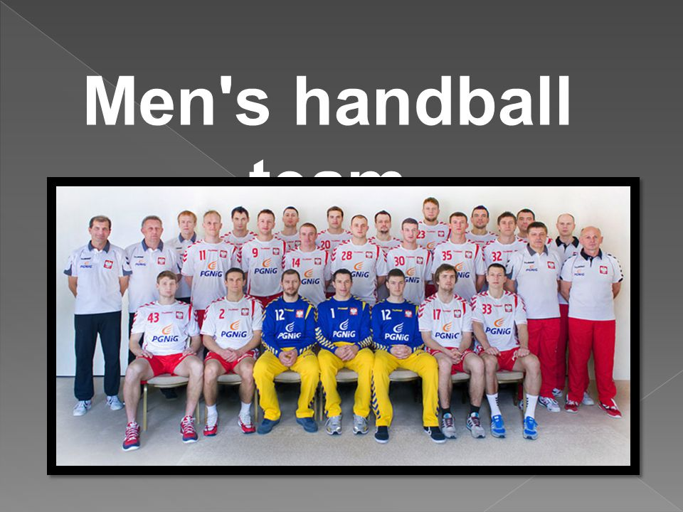 Men s handball team