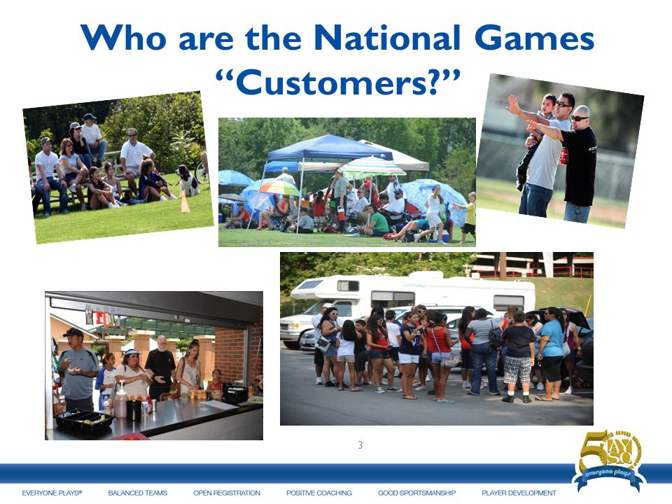 Who are the National GamesCustomers? 3