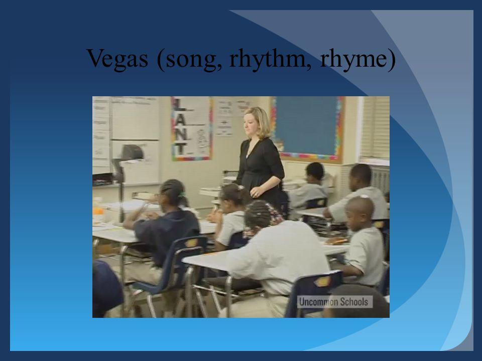 Vegas (song, rhythm, rhyme)