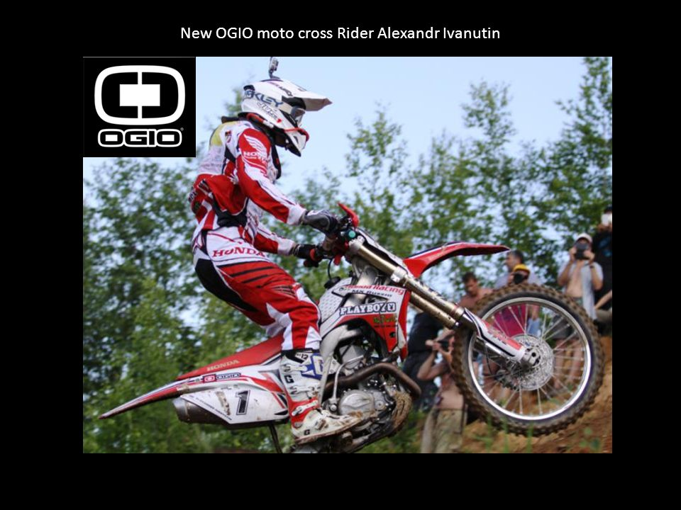 New OGIO moto cross Rider Alexandr Ivanutin