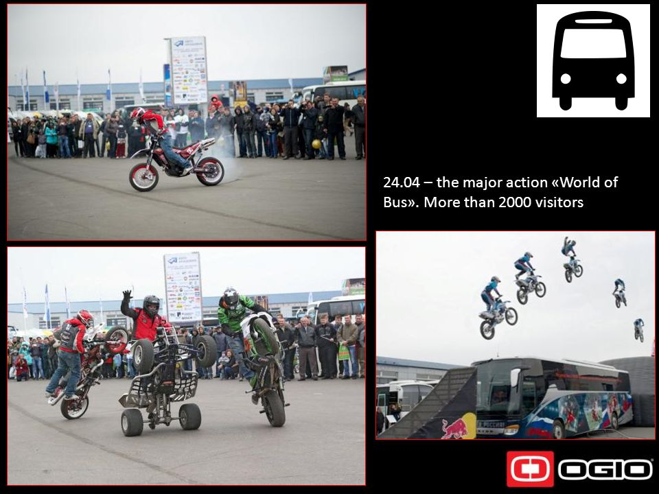 24.04 – the major action «World of Bus». More than 2000 visitors