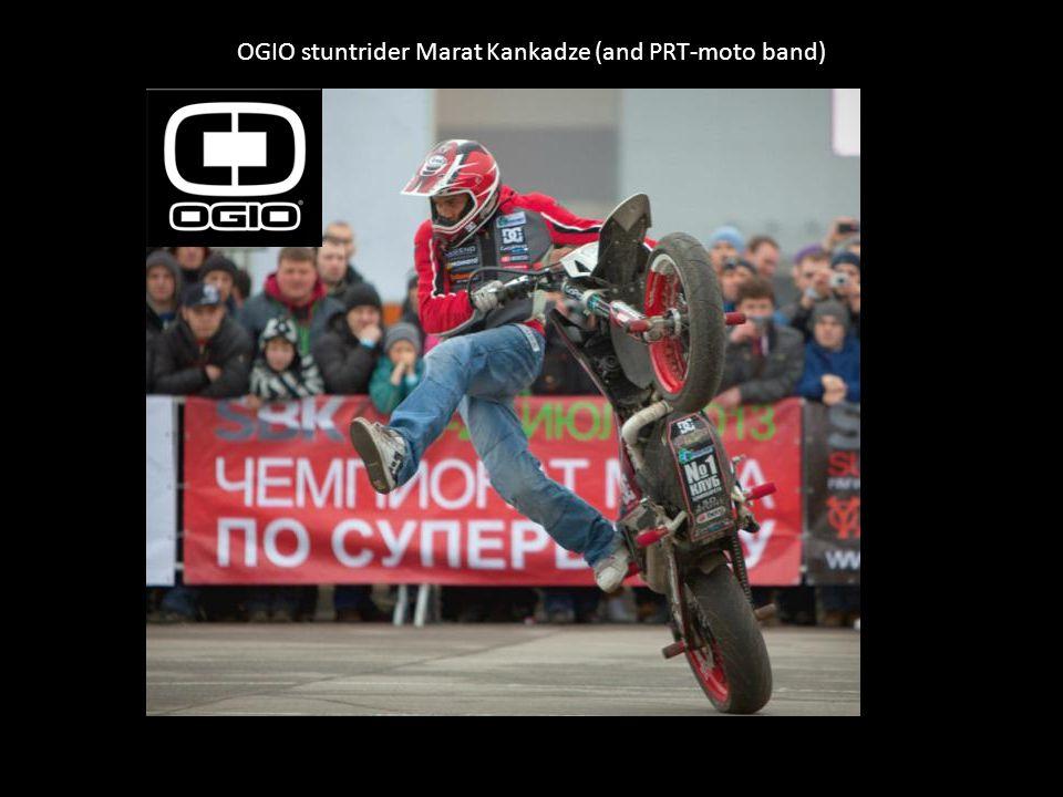 OGIO stuntrider Marat Kankadze (and PRT-moto band)