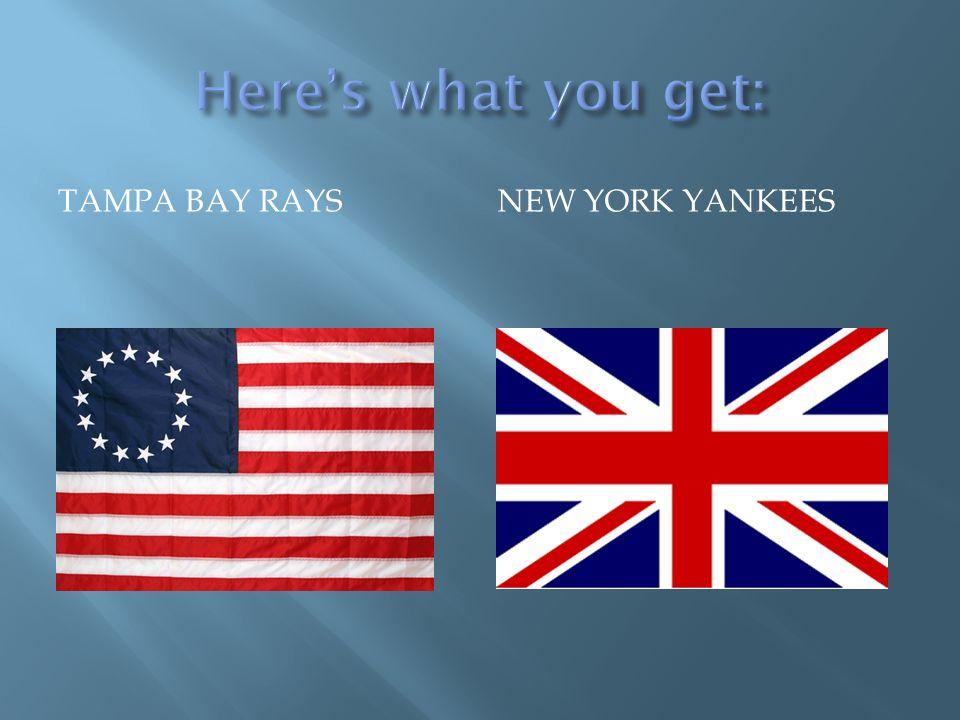 TAMPA BAY RAYSNEW YORK YANKEES