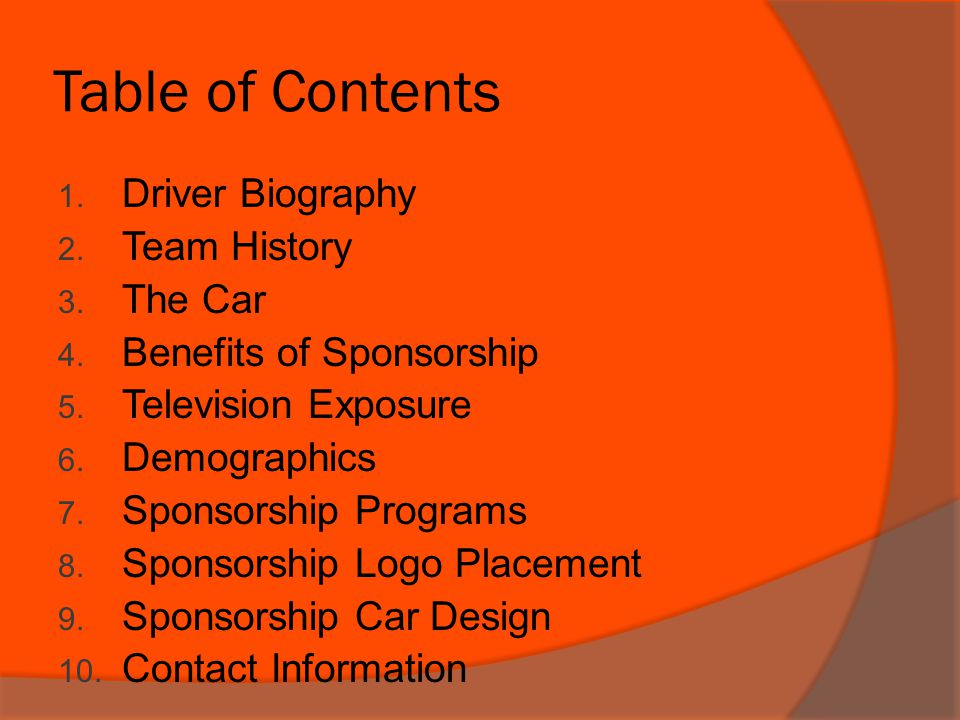 2011 Sponsorship Proposal By becoming a Sponsor your company will immediately gain national, regional, and local recognition, and the maximum amount of exposure.