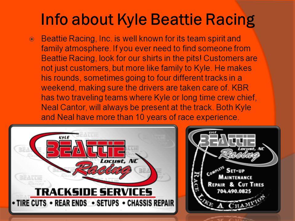 Kyle Beattie Racing Cont.