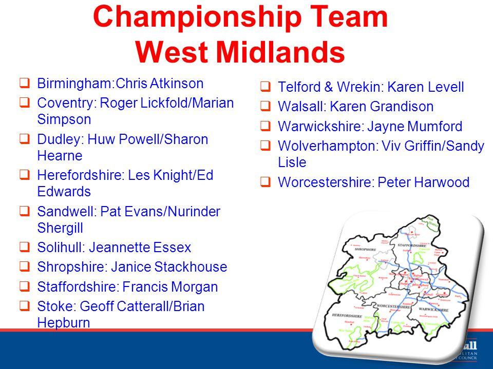 West Midlands Champion Pathfinder The Regional Strategy