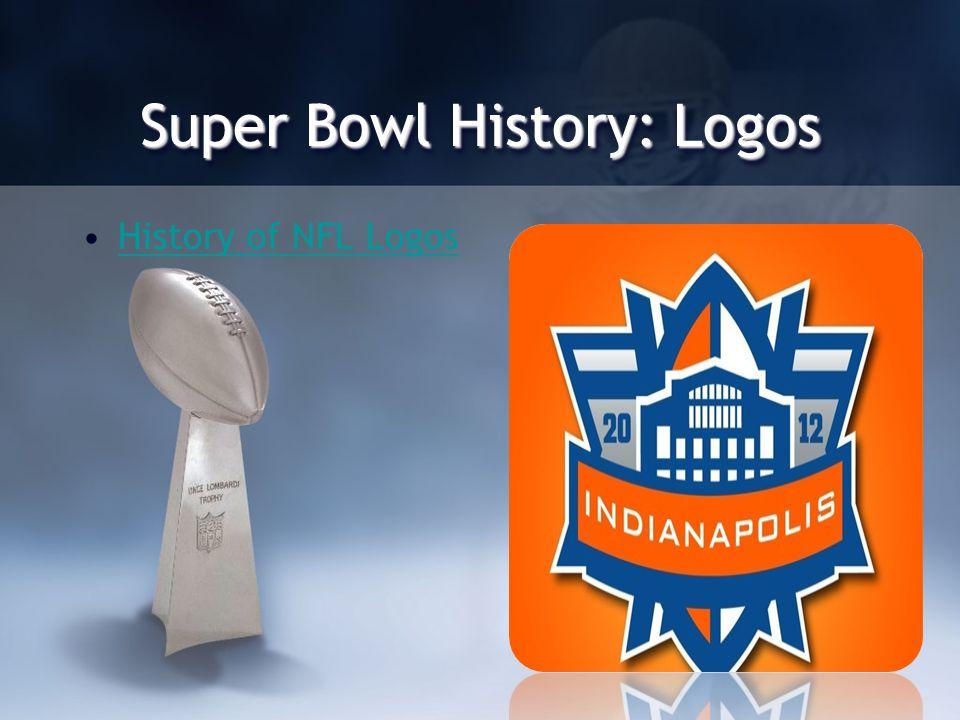 Super Bowl History: Logos History of NFL Logos