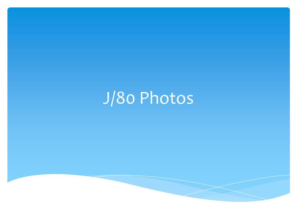 J/80 Photos