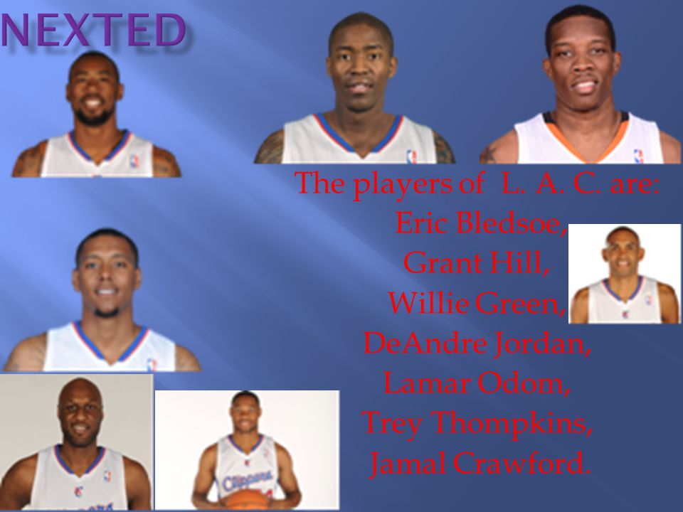 The players of L. A. C.