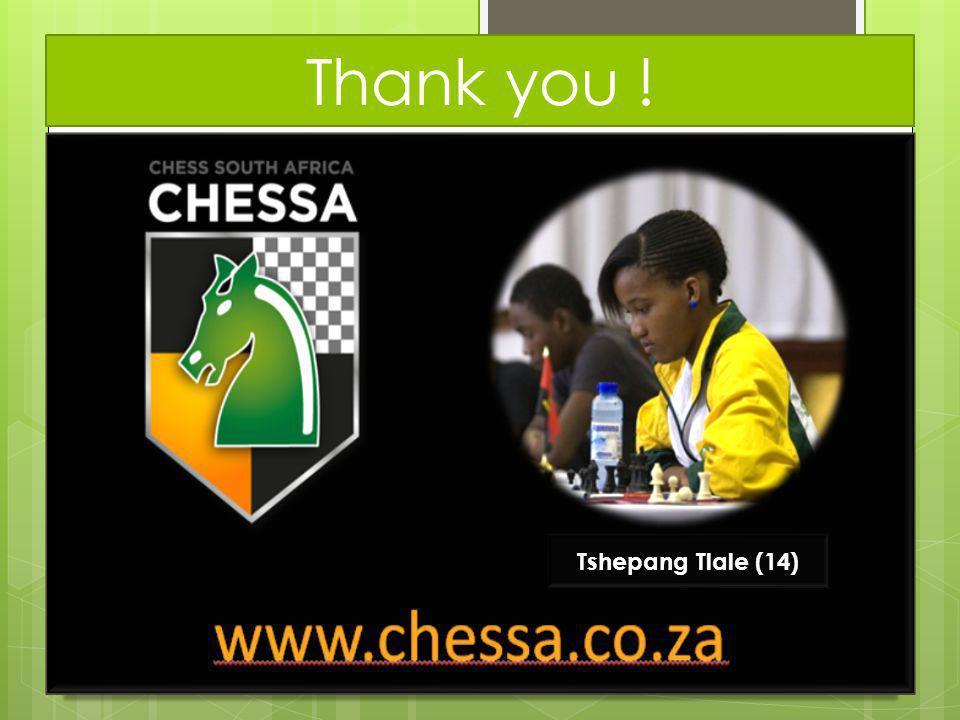 Thank you ! Tshepang Tlale (14)