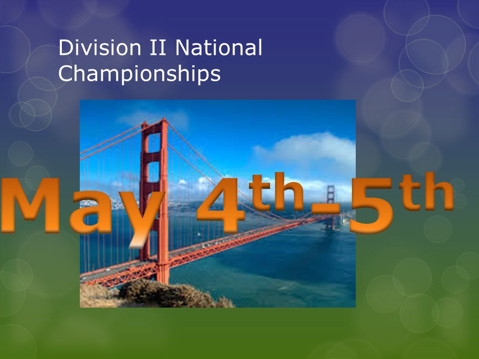 Division II National Championships