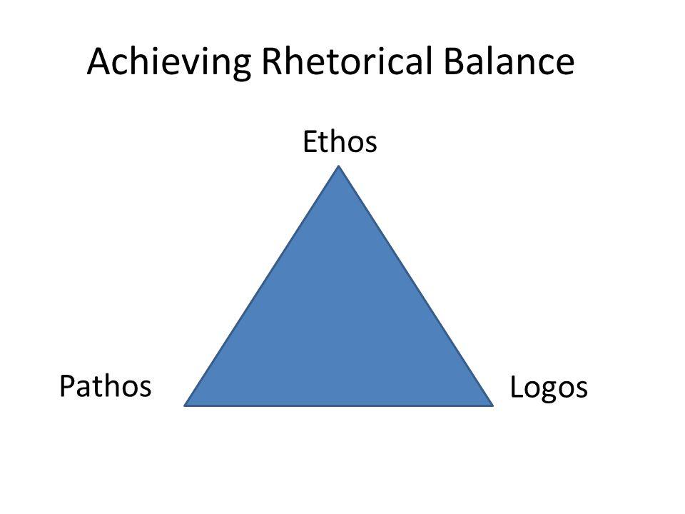 Logos Logos is an appeal to reason or logic.