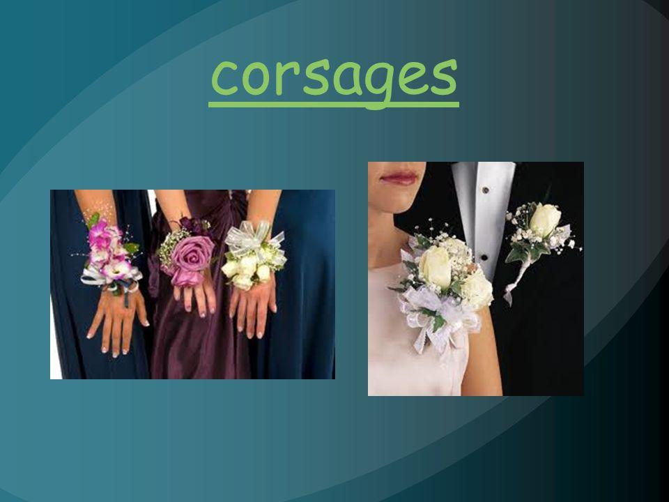 corsages