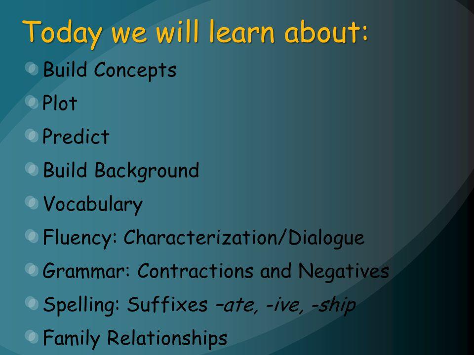 Fluency Characterization/Dialogue
