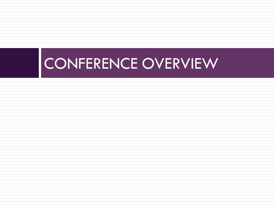 What is Conference.