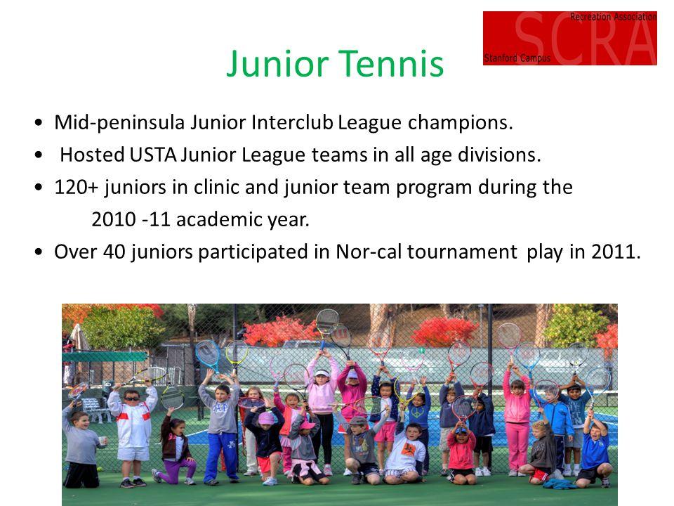 Junior Tennis Mid-peninsula Junior Interclub League champions.