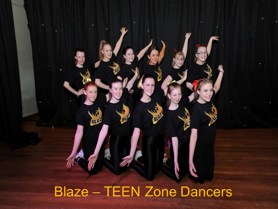 TEEN Zones Teenagers Summer Trip to Edinburgh Dungeons BLAZE TEEN Zone Dancers Pamper Night