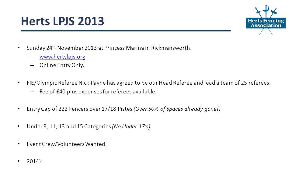 Sunday 24 th November 2013 at Princess Marina in Rickmansworth.