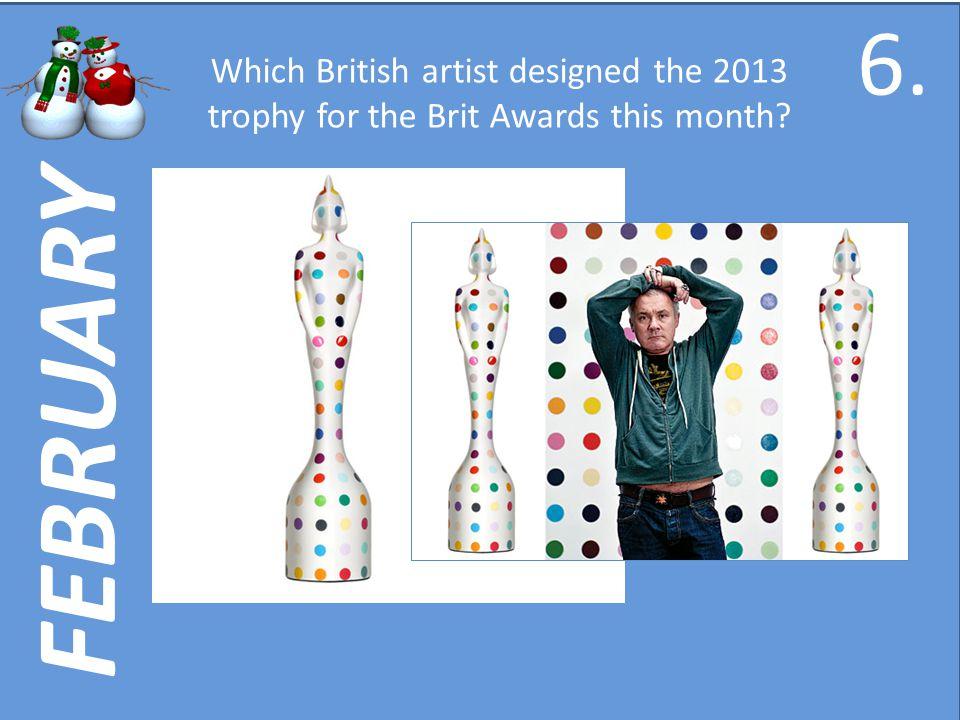 DECEMBER Whose album Artpop was number one this month? 56.