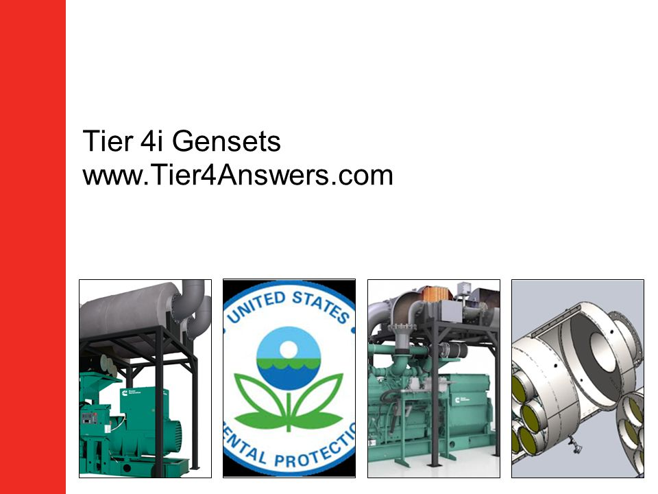 Tier 4i Gensets www.Tier4Answers.com
