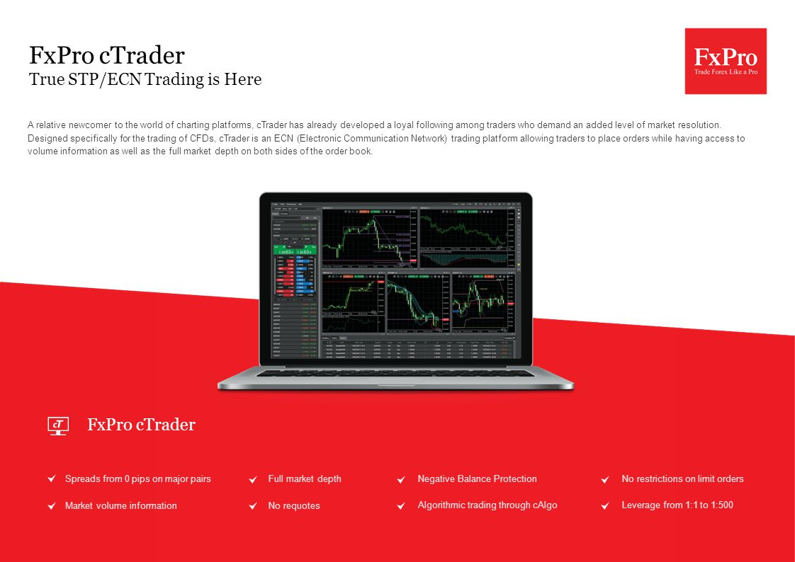 A relative newcomer to the world of charting platforms, cTrader has already developed a loyal following among traders who demand an added level of mar