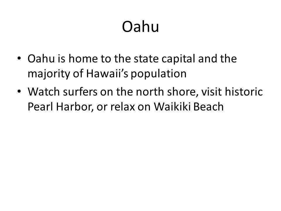 Kauai Kauai is the island chains oldest island See the golden Coconut Coast, the enormous Waimea Canyon, or the cliffs of the Na Pali Coast