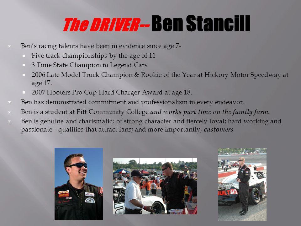 Drivers: Ben and John Stancill