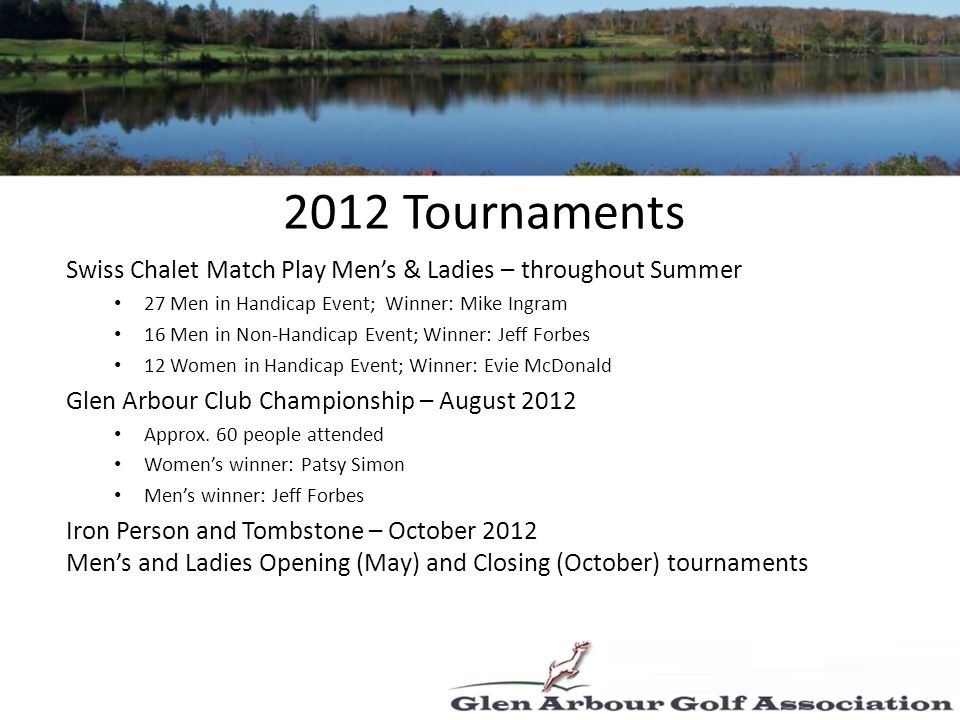 Course Opens: May 10 th - with new food service caterer RCR Hospitality.