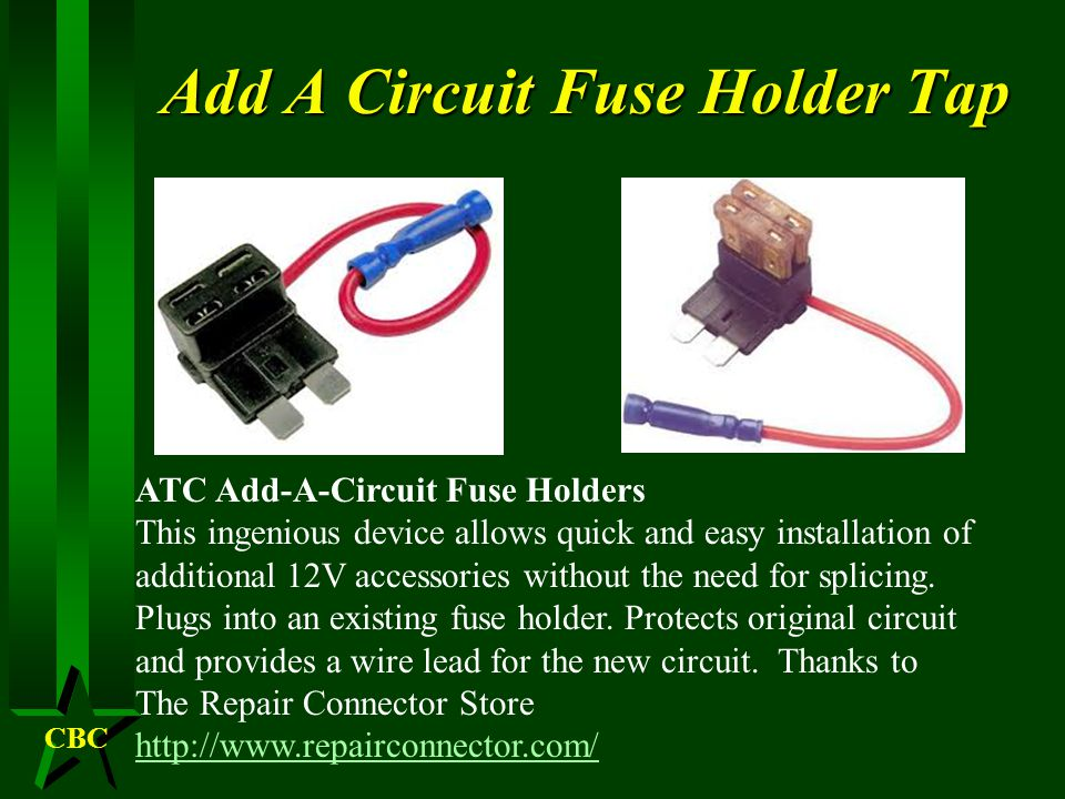 CBC New Circuits H What size of fuse should I install