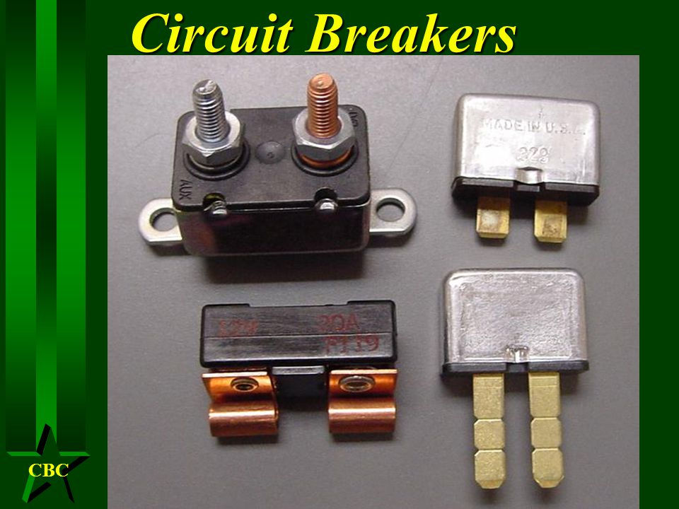 CBC Circuit Breaker H Why circuit breakers H Styles H Deterioration