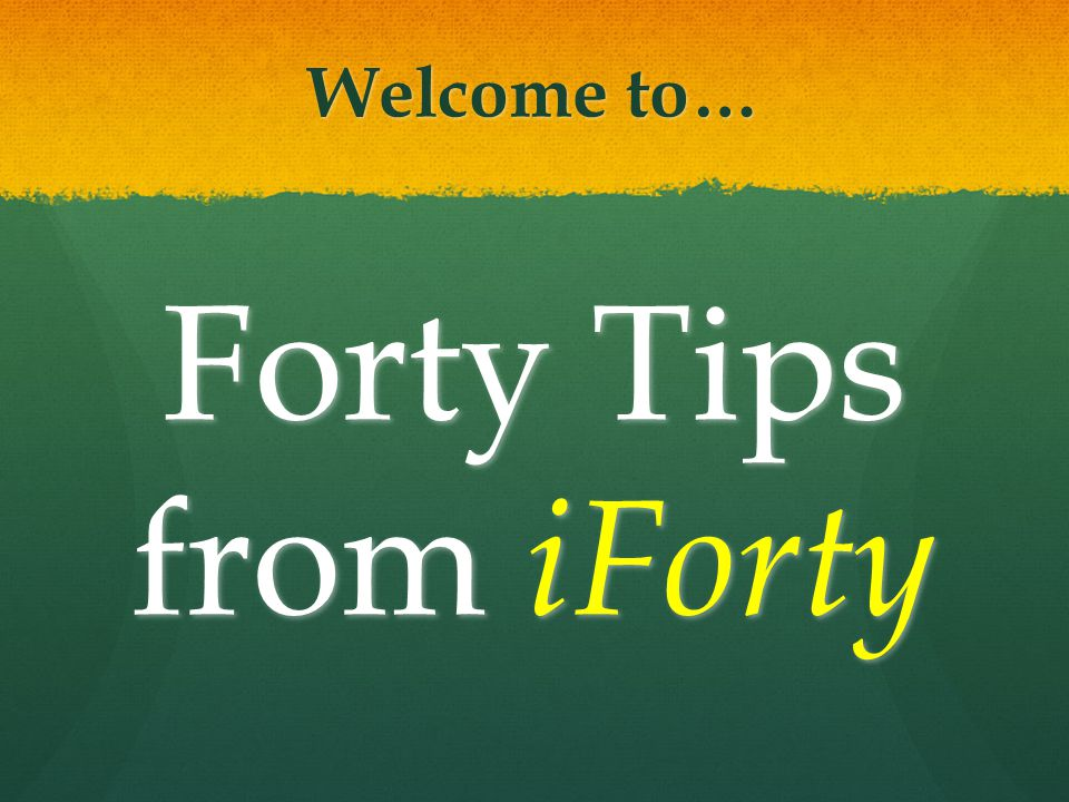 Tip #31: Do the WORQS… Welcome to the W ork O rder R equest & Query System… the best way to get the job done!