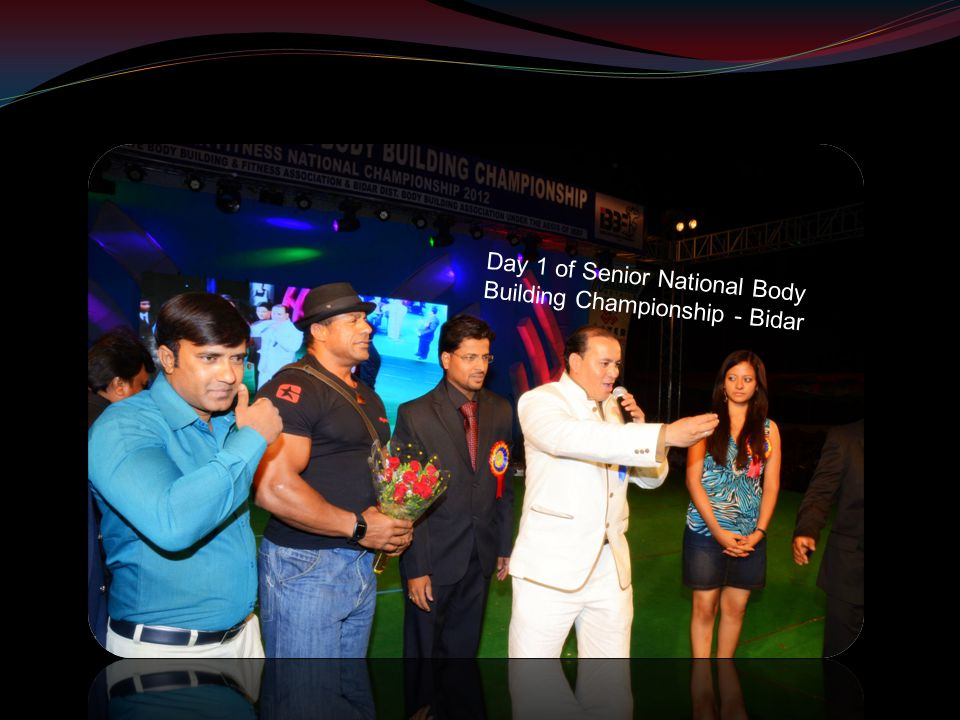 Day 1 of Senior National Body Building Championship - Bidar