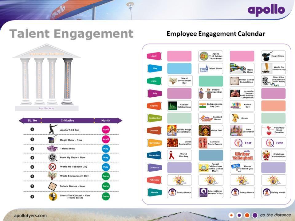 Employee Engagement Calendar
