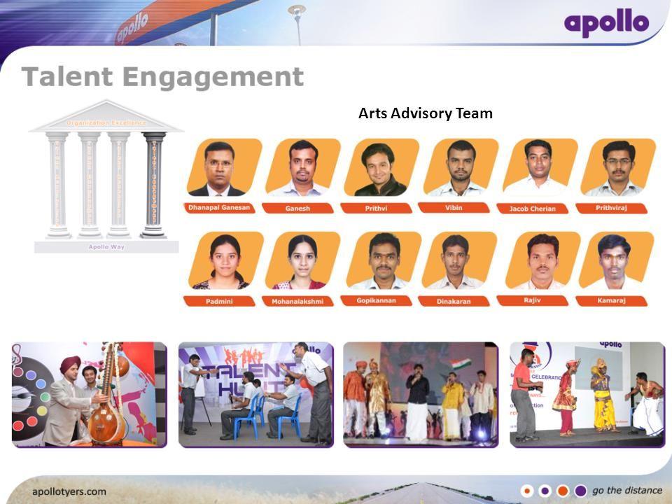 Arts Advisory Team