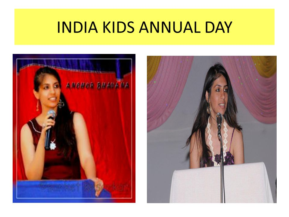 INDIA KIDS ANNUAL DAY
