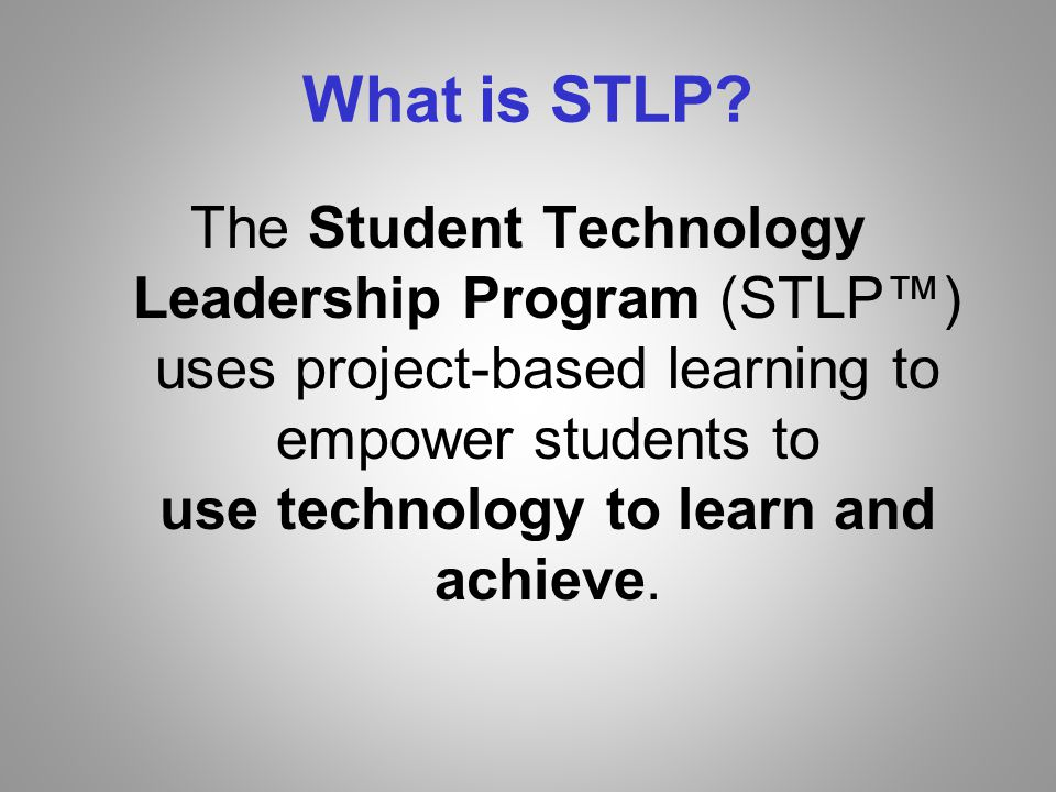 What is STLP.