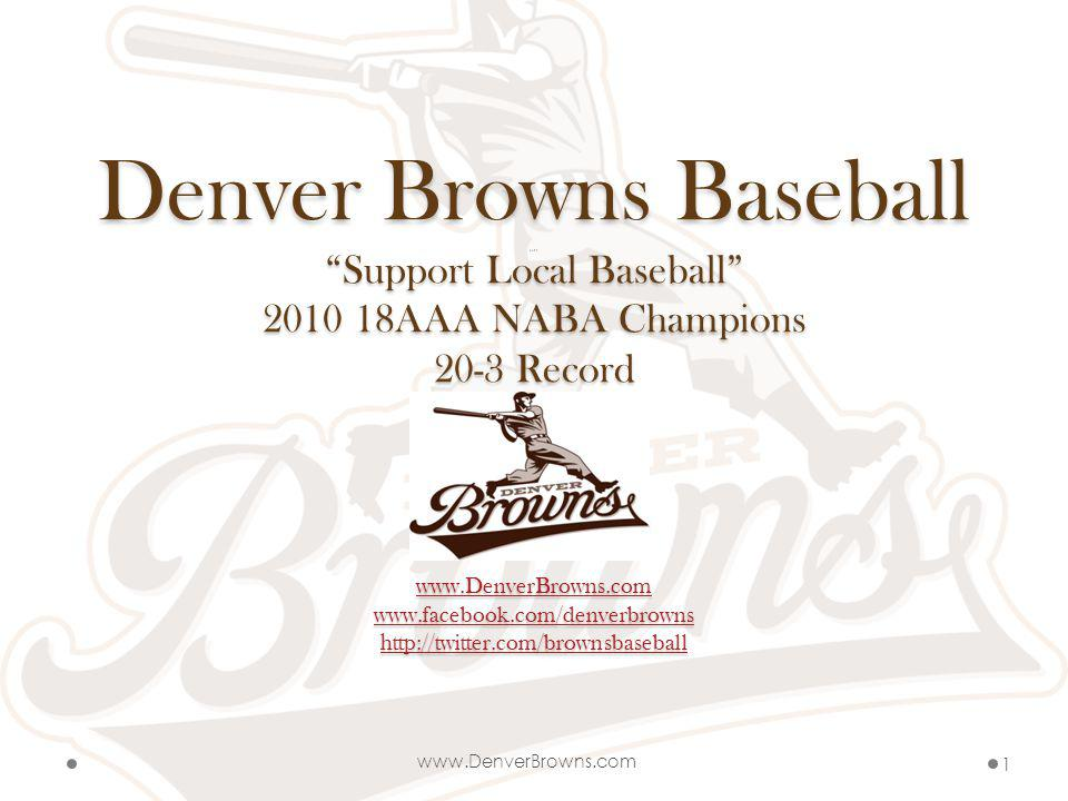 Browns Mission Statement Browns Mission Statement To break the mold of amateur and semi- professional baseball by always striving to be the best in everything we do from the field to the community It is our mission to select players based upon playing skill as well as additional criteria.